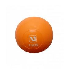 Медбол мягкий 1 кг LiveUp SOFT WEIGHT BALL LS3003-1