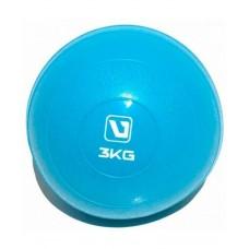 Медбол мягкий 3 кг LiveUp SOFT WEIGHT BALL LS3003-3
