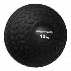Слэмбол (медбол) для кроссфита SportVida Slam Ball 12 кг SV-HK0368 Black