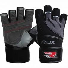 Рукавички для фітнесу RDX Pro Lift Black M