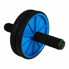 Ролик (колесо) для пресса двойной Sportcraft ES0002 Blue