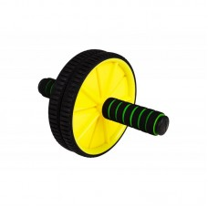 Ролик для пресса Hop-Sport желтый