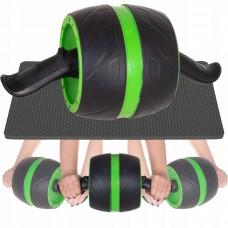 Ролик (колесо) для пресса с возвратным механизмом Springos AB Wheel FA5010 Black/Green