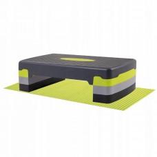 Степ-платформа 3-ступенчатая Springos FA0202 + мат