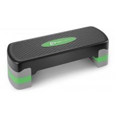 Степ платформа Hop-Sport HS-PP020AS черно-зеленая