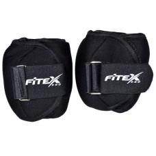 Утяжелители на щиколотку Fitex 1 кг MD1662-1