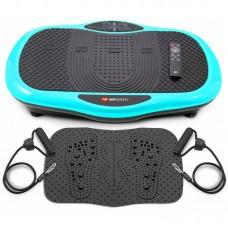 Виброплатформа для похудения 3D HS-070VS Scout бирюзовая
