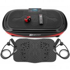 Виброплатформа для похудения Hop-Sport 4D HS-095VS Crown+ массажный коврик+ пульт управления/часы