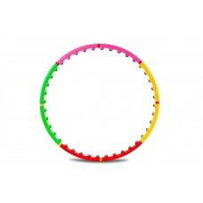 Хулахуп обруч для похудения массажер 95 см Hop-Sport 40 шариков
