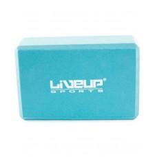 Блок для йоги LiveUp EVA LS3233A-b