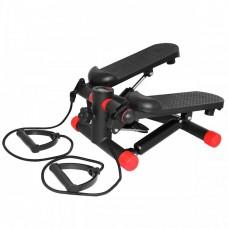 Степпер с эспандерами SportVida SV-HK0282 Black/Red