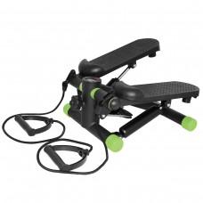 Степпер с эспандерами SportVida SV-HK0357 Black/Green