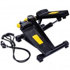 Степпер с эспандерами черн/желт USA Style LEXFIT LAB-1008