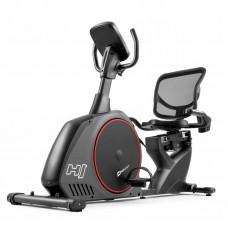 Горизонтальный велотренажер Hop-Sport HS-095L Scale серый+ мат