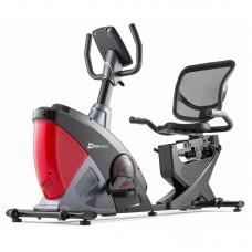 Велотренажер Hop-Sport HS-070L Helix iConsole+ красный