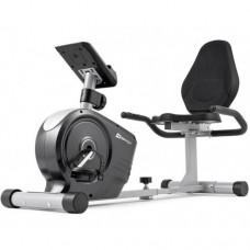 Горизонтальный велотренажер Hop-Sport HS-2050L Beat серебристый