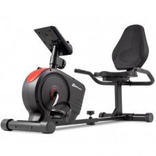 Горизонтальный велотренажер Hop-Sport HS-2050L Beat красный
