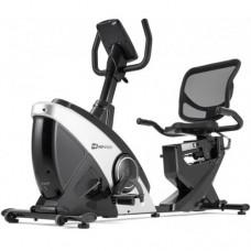 Горизонтальный велотренажер Hop-Sport HS-070L Helix серебристый iConsole+