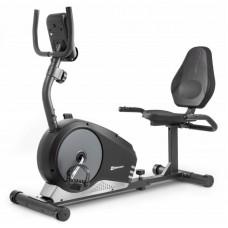 Горизонтальный велотренажер HS-040L Root магнитный черно-серебристый - model 2020