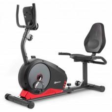 Горизонтальный велотренажер HS-040L Root черно-красный - model 2020