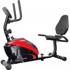 Горизонтальный велотренажер USA Style IRON MASTER 352R для дома магнитный