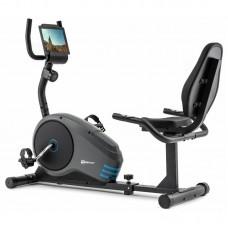Горизонтальный велотренажер Hop-Sport HS-040L Root Gray/Blue
