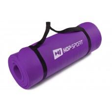 Коврик для фитнеса и йоги HS-4264 1,5см violet