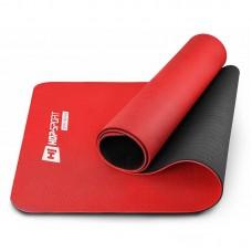 Коврик для фитнеса и йоги TPE 0,6 см Hop-Sport HS-T006GM красный