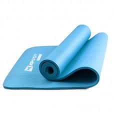 Коврик для фитнеса и йоги HS-N010GM 1 см голубой
