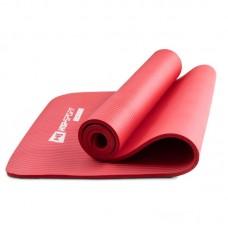Коврик для фитнеса и йоги HS-N010GM 1 см красный