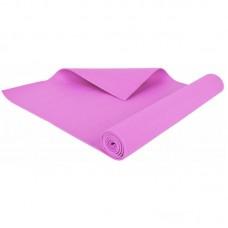 Коврик для фитнеса и йоги Hop-Sport 3 мм Pink