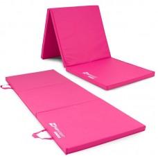 Мат гимнастический складной Hop-Sport HS-064FM 4 см розовый