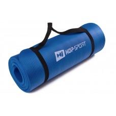 Коврик для фитнеса и йоги HS-4264 1,5см blue