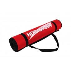 Коврик для фитнеса и йоги HS 2256 red
