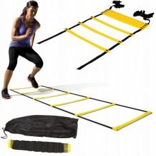 Координационная лестница 4FIZJO Agility Ladder 8 м (скоростная дорожка) 4FJ0239