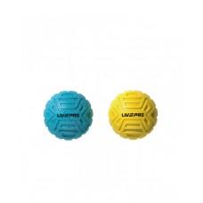 Набор мячей для массажа  6 и 8 см LivePro FOOT MASSAGE BALL LP8507