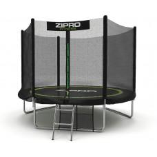 Батут детский с внешней сеткой Zipro Fitness 252 см