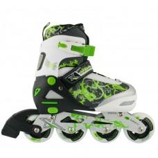 Роликовые коньки Nils Extreme NJ9012A Size 35-38 Green
