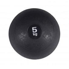 Медбол (медицинбол) для кроссфита SportVida Medicine Ball 5 кг SV-HK0059 Black