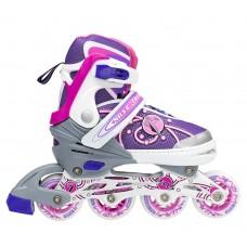 Роликовые коньки Nils Extreme NA1152A Size 31-34 Pink