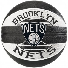 Мяч баскетбольный Spalding NBA Team Brooklyn Nets Size 7
