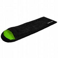 Спальный мешок SportVida SV-CC0019 Left Black/Green