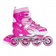 Роликовые коньки Nils Extreme NJ1828A Size 35-38 Pink