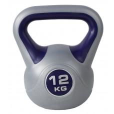 Гиря спортивная пластиковая SportVida 12 кг SV-HK0082