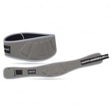 Пояс для тяжелой атлетики неопреновый SportVida SV-AG0083 (XL) Gray