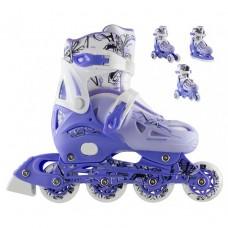 Роликовые коньки Nils Extreme NH0320A 4 в 1 Size 31-34 Blue