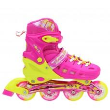 Роликовые коньки Nils Extreme NA1005A Size 31-34 Pink