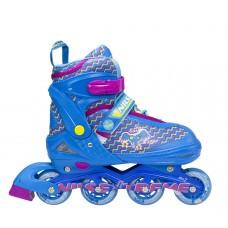 Роликовые коньки Nils Extreme NJ4613A Size 34-37 Blue