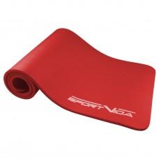 Коврик для фитнеса и йоги SportVida NBR 1.5 см SV-HK0073 Red