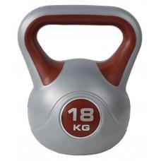 Гиря спортивная пластиковая SportVida 18 кг SV-HK0085